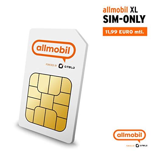 allmobil powered by Otelo XL 7GB LTE Allnet Flat GÜNSTIGSTER DIREKT-TARIF DEUTSCHLANDS im LTE-Netz von Vodafone SIM only