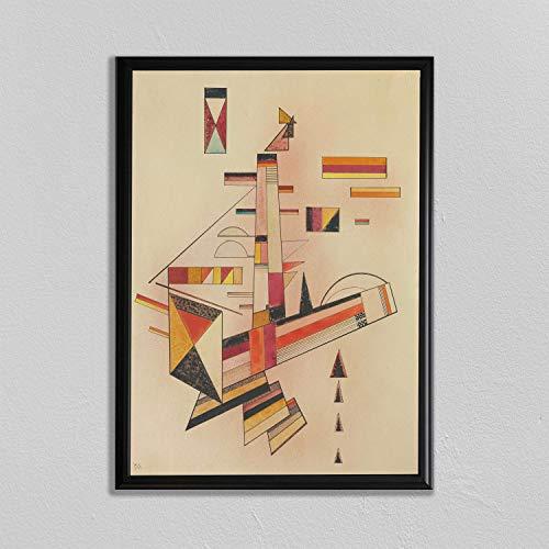 Wassily Kandinsky Druck Bestimmt Abstrakter Kunstdruck Klassische Wandkunst Kandinsky Gemälde Russische Wandkunst Klassisches Ölgemälde
