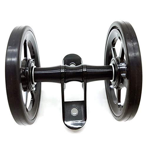 WOVELOT Ruedas de Defensa Ultraligeras 70G de Bicicletas para Brompton Guardabarros Trasero de Bicicleta Plegable-Negro