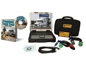 Best Price TR Systems Mack & Volvo Premium Tech Tool Diesel Diagnostic Laptop Kit