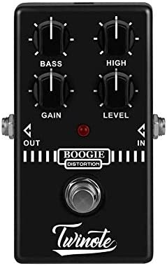 Twinote Boogie Dist Synthesizer Mini Guitar Pedal Old School Distortion Tone product image