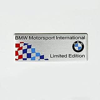 Motorsport International Aluminum Side Emblem Sticker Decal For Bmw