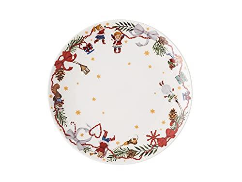 Rosenthal Hutschenreuther Weihnachtslieder 21 'Teller flach 22 cm - Lasst Uns froh. ' 22 cm