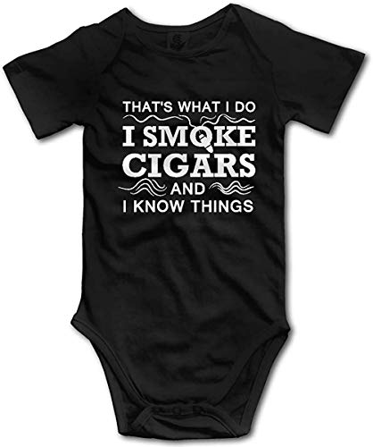 That's What I Do Romper Toddler/Infant Bodysuit Fashion Jumpsuit Clothes for Baby Black