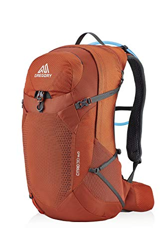 Gregory Mountain Products Men's Citro 30 H2O Hydration Backpack,SPARK ORANGE