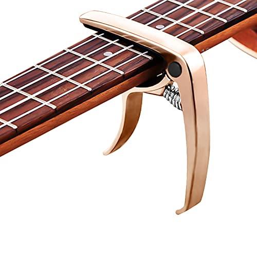 Cejilla para guitarra, aleación de zinc, cejilla universal para guitarra eléctrica, versión...