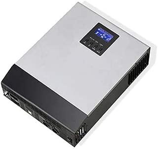WccSolar Inversor Onda Pura Hibrido 1kva 12V Regulador Solar 50A Cargador baterias 20A Todos en uno