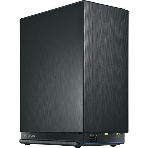 I-O DATA NAS 4TB デュアルコアCPU 2.5GbE マルチギガビット ミラーリング(RAID 1) スマホ タブレット クラウド連携 日本製 3年保証 HDL2-AAX4/E