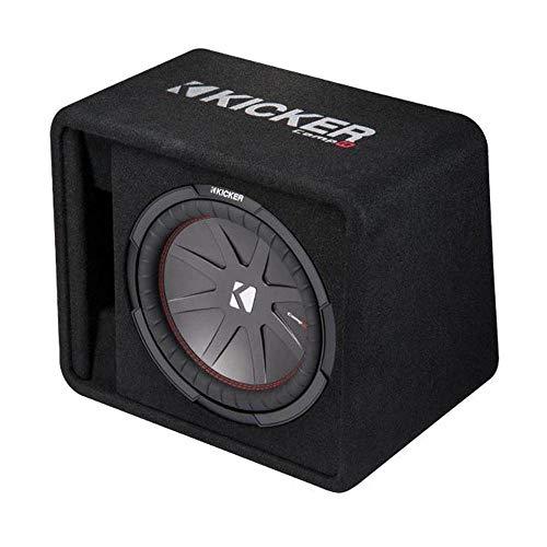 Kicker 12 Inch 1000W Subwoofer Box + 1500W Mono Amplifier, Remote + Wiring Kit