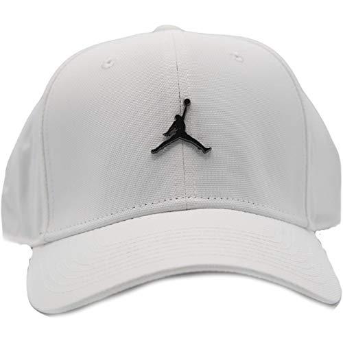 Nike Jordan CLC99 Cap Metal JM Hat, White, MISC