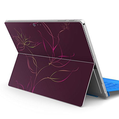 igsticker Ultra Thin 3M Premium Protective Back & Side Body Stickers Skins Universal Tablet Decal Cover for Microsoft Surface Pro 4/ Pro 2017/ Pro 6(2018) 002248