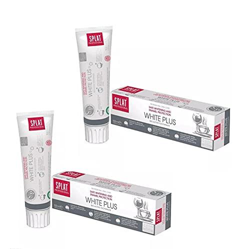 Splat SPLAT Germany GmbH White Plus Whitening Zahnpasta, Sparset 100ml x 2