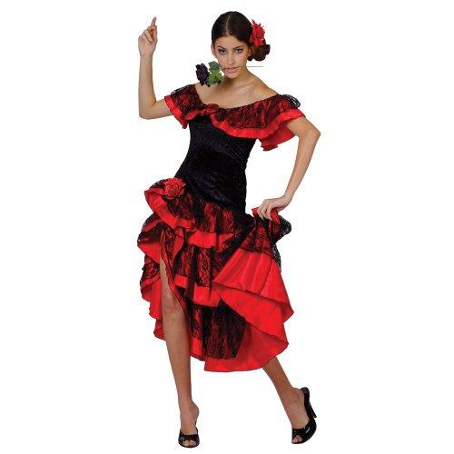 Costume Ballerina di flamenco spagnolo Senorita nel formato L/44-46 [giocattoli]