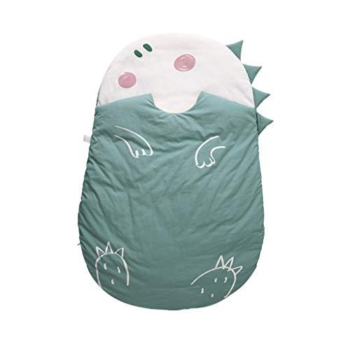 Jixi Baby Slaapzak Dierlijke Vorm Pasgeboren Kinderslaapzak Herfst En Winter Veer Zijde Peuter Nap Mat