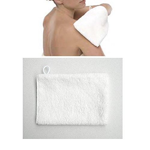 Waschhandschuh Micro-Peeling Sensation, Kosmetex Handschuh Micromatrix Mikrofaser System für die Make-up Reinigung