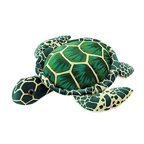 RG-FA Big Sea Turtle Plush Toy Soft PP Algodón Relleno Tortuga Almohada Cojín Kid Gift - Tortuga de ojos grandes 20 Cm