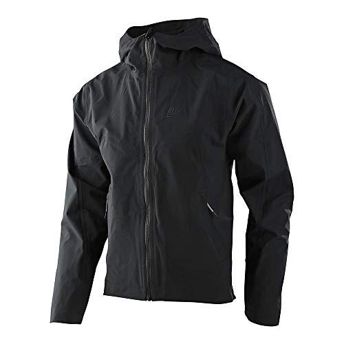 Troy Lee Designs Mens | All Mountain | Mountain Bike | Descent Jacket (Black, XL)