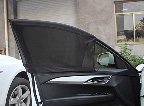 Pare-Soleil pour la fenêtre latérale du Voiture – Comprend Tapis Anti Dérapage pour le tableau de bord gratuitement – Protection Maximale contre les rayons UVA pour les nourrissons