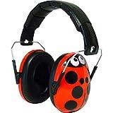Edz Kidz キッズ 赤ちゃん用 6カ月-15歳 遮音値26db イギリスで大ヒット イヤーマフ てんとう虫デザイン