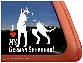 custom german shepherd decals