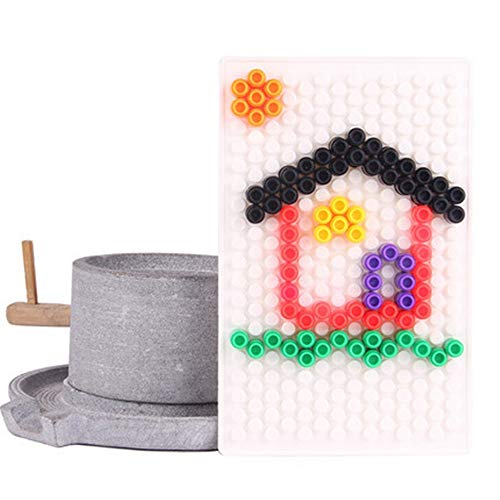Liuxiaomiao-Toy Blocs Jouets Enfants 3-12 Ans en Plastique 700 Pièces De Champignons Nail Puzzle Building Blocks Puzzle Démontage Enfants Jouets pour la Famille de la Maternelle