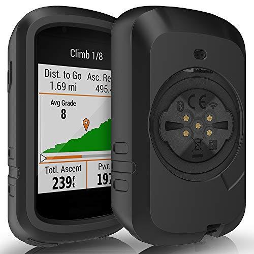 TUSITA Hülle Kompatibel mit Garmin Edge 830 - Silikon Schutzhülle Skin - GPS Bike Computer Zubehör