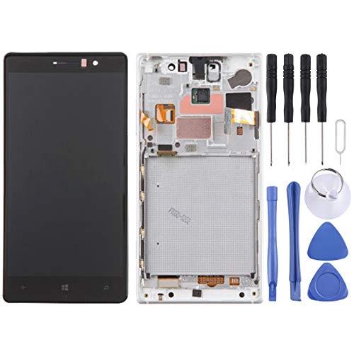 Zhoutao Schermo LCD del Cellulare Schermo LCD e Digitizer Full Assembly con Telaio per Nokia Lumia 830 Parti di Ricambio telefonico.
