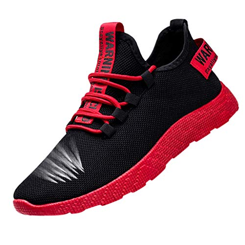 Aoogo Herrenmode Die Neuen Männer, die le Running Shoes Tourist Shoes Leisure Sports Shoes weben Freizeitschuhe Stiefel Stiefeletten Wanderstiefel Combat Hallenschuhe Shoes Laufschuhe