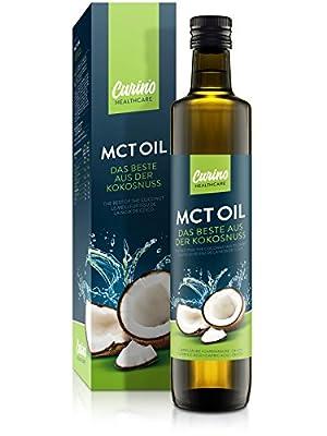 MCT-Oil for Bulletproff Coffee & Keto Diet 500ml - 100% Coconut-Oil flavorless & odorless