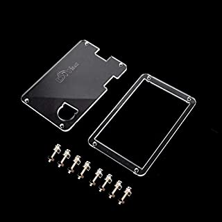 Transparent Clear Acrylic Case for Nextion Enhanced 3.2 inch NX4024K032 UART HMI TFT LCD Touch Display Screen WIshioT