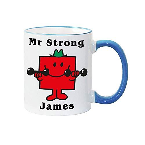 MR Strong Mug Weight Lifting Gift Birthday Christmas Fathers Day Gift for him