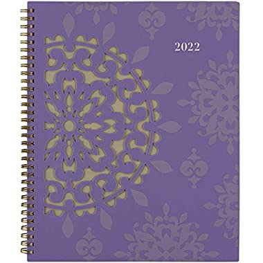 2022 Weekly & Monthly Planner by Cambridge, 8-1/2″ x 11″, Large, Vienna (122-905)