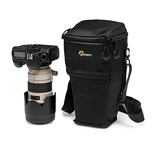 Lowepro ProTactic TLZ 75 AW Toploader per Reflex, per Obiettivi fino a 70-200 mm f/2.8, Paraluce e Battery Grip, divisione Attrezzatura/Effetti Personali, per Reflex come la Canon 5D, LP37279-PWW