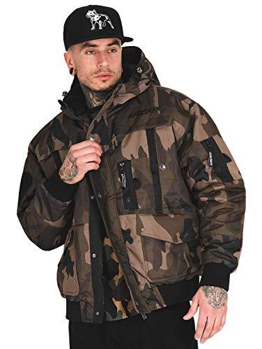 Amstaff Herren Winterjacken Conex Camouflage 2XL
