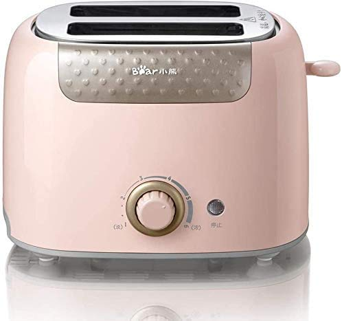 Breadmaker Toaster Broodrooster Thuis Multi-Function Two-Piece Mini Kleine Broodrooster Driver-Pink 8bayfa (Color : Pink)