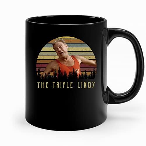 The Triple Lindy Mug Gift Coffee Cup For Men Women Best Women 90S Coffee Cups Retro Funny Mug Cools Coffee Cup Custom Mugs Customize Trending Coffee Cup Mug Coffee 5X87