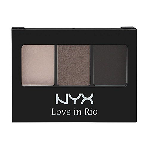NYX Cosmetics Love In Rio Eyeshadow Palette No Tan Lines Allowed