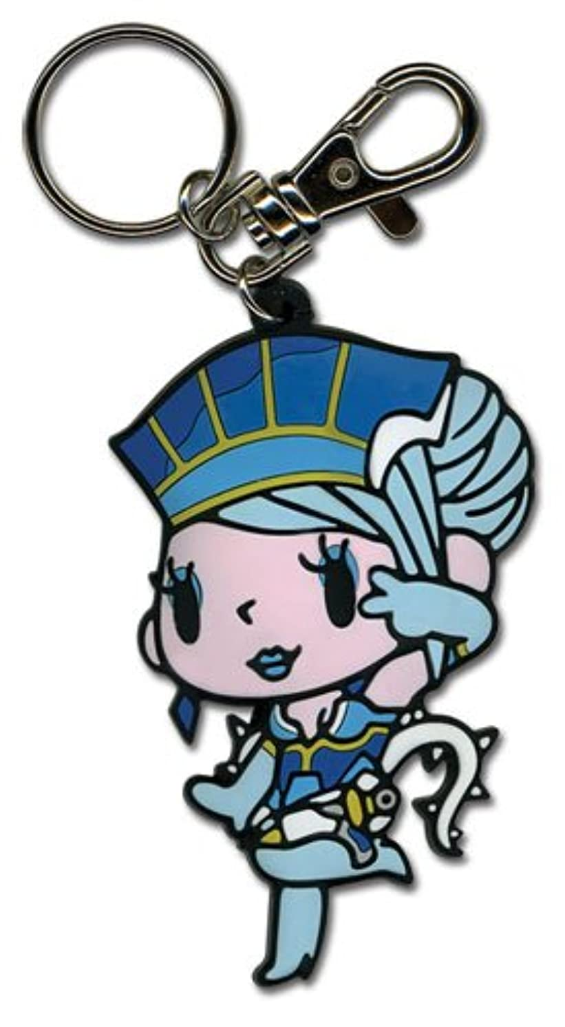 Great Eastern Entertainment Tiger & Bunny - Blue Rose SD PVC Keychain