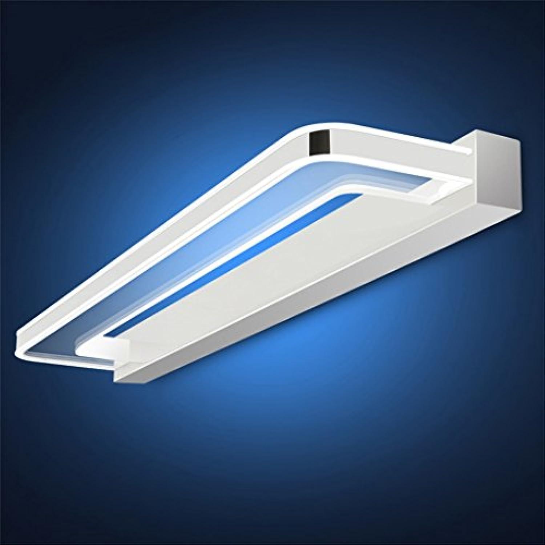 Wasserdichtes Badezimmer LED-Spiegel-vorderes helles einfaches modernes europisches Art-Wand-Lampen-Spiegel-Kabinett-Lichter ( Farbe   Weies Licht-48CM9W )