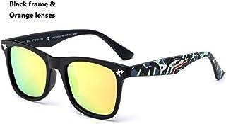 ddb18c8a4d Lanbinxiang@ Moda Niño Gafas de Sol Doodle Espejo Gafas de Sol Niños  Polaroid Gafas de