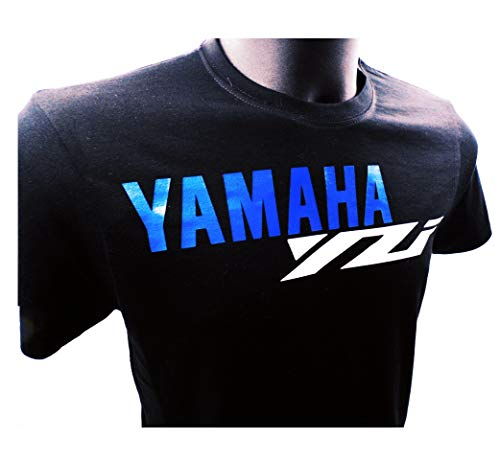 ALOBA Camiseta Yamaha YZF, Fabricado y enviado Desde España, Calidad y Tallas Europeas (M)