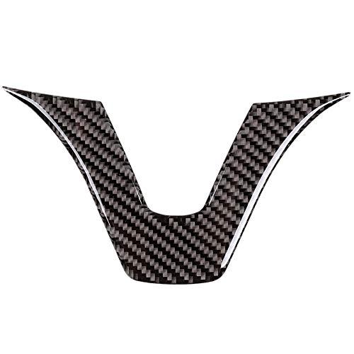 Senmubery Carbon Innen Aufkleber, Lenkrad Emblem Aufkleber, Passend für Mercedes C-Klasse W204 W205