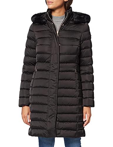 Geox Damen W BETTANIE W1425HT2655 Down Coat, Black, 48