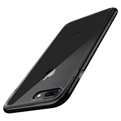 Spigen Cover Neo Hybrid Crystal 2 Compatibile con iPhone 8 Plus Compatibile con iPhone 7 Plus - Jet Black