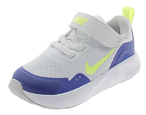 Nike Scarpe Sportive WEARALLDAY CJ3818104 Bambino Bianche Bianco 19.5 EU