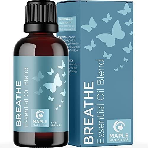 Breathe Blend Essential Oil for Diffuser - Breathe Essential...