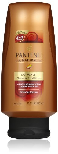 Pantene Pro-V Truly Natural Hair Co-Wash Conditioner 22.8 Fl Oz