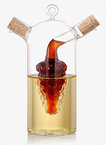 soufflé à la bouche d'huile d'olive Vinaigrier avec grappe de raisin, 283,5 gram Huile et Vinaigre