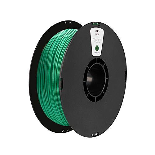 PLA-Filament 1,75 mm, 3D-Druckerfilament 1 kg-Grün
