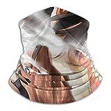 Att-ack-On-Titan Cubierta facial Escudo Calentador de cuello Bufanda para el cuello Cinta para la cabeza multifuncional Pañuelo para la cabeza Pasamontañas Protectores bucales Transpirable -754